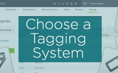 Choose a Tagging System