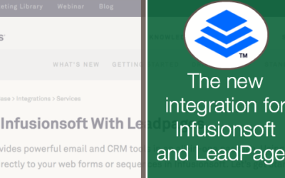 The New Leadpages Integration for Infusionsoft
