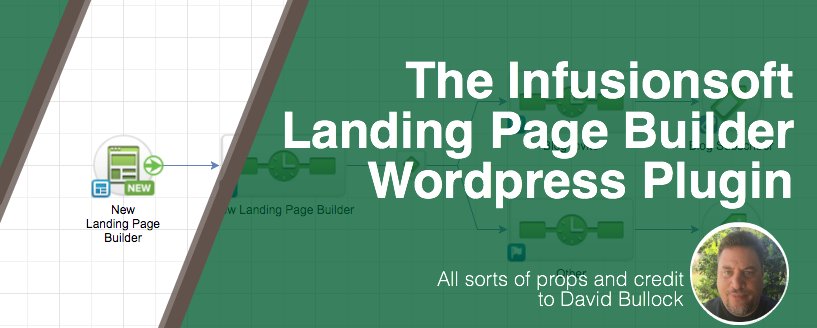 Infusionsoft Landing Page WordPress Plugin