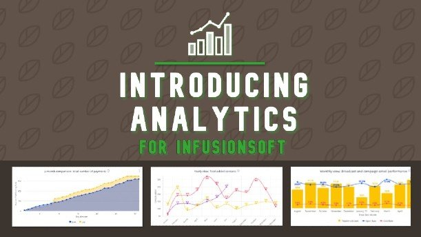 Introducing Analytics for Infusionsoft