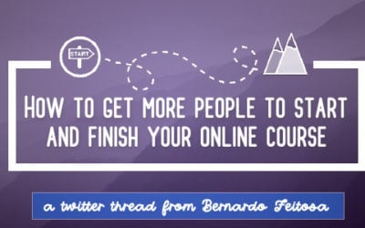 How to Get More People to Start and Finish your Course